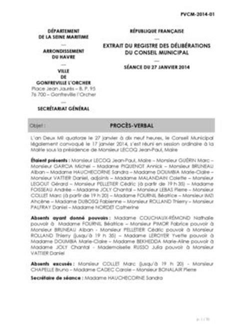 Mod Les De Lettre Pour Un Proc S Verbal p v modification statuts association calam 233 o proc 232