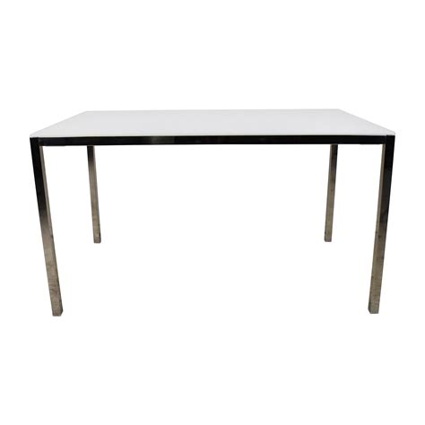 85 Off Ikea Ikea Torsby Large Glass Top Dining Table Dining Tables Glass