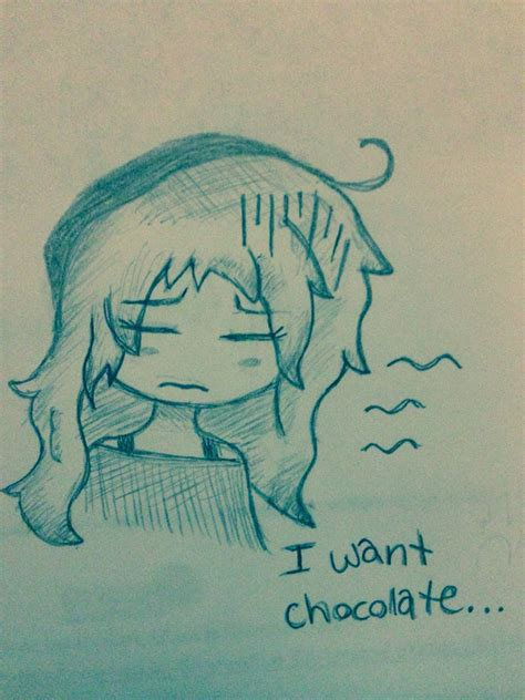 I Want Chocolate by I Want Chocolate By Foxeevee On Deviantart