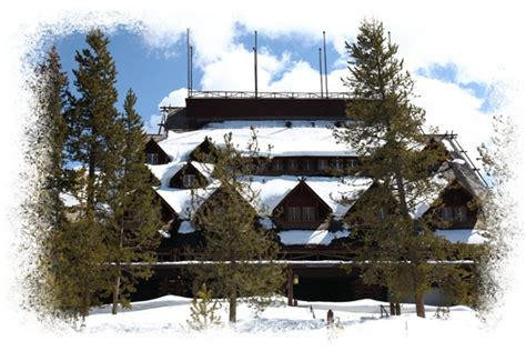 yellowstone national park lodging images