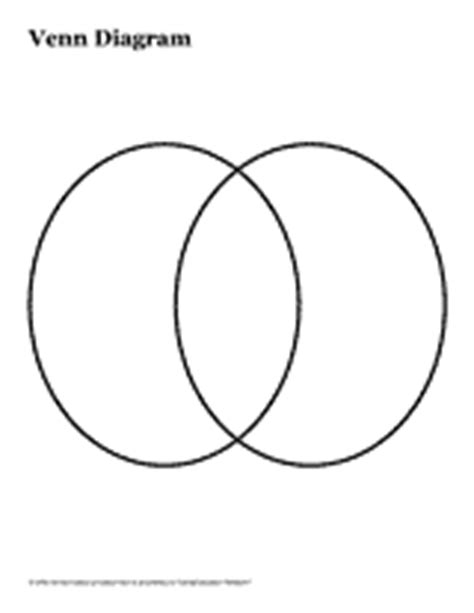 printable double venn diagram double venn diagram version 1 graphic organizer pre k