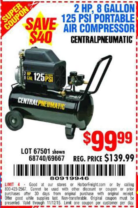 Promo Air harbor freight tools coupon database free coupons 25