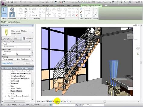 autodesk revit tutorial videos autodesk revit architecture interior rendering tutorial