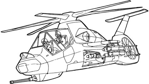 comanche helicopter coloring page helicopter cartoons