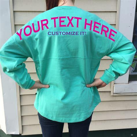 design spirit jersey custom billboard spirit shirt for any sorority big or little