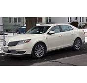2013 Lincoln MKS AWD Facelift Front Viewjpg  Wikimedia Commons