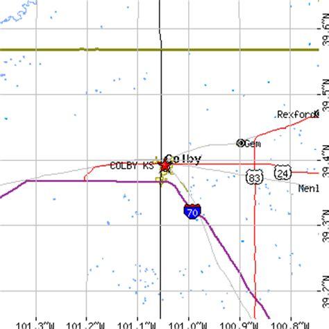 colby texas map colby kansas ks population data races housing economy