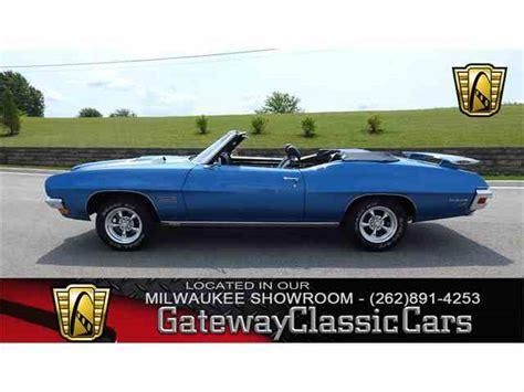 1970 pontiac lemans convertible for sale 1970 pontiac lemans for sale on classiccars