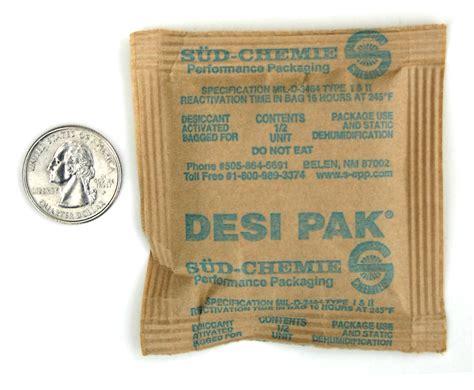 Desipak 2 Gram 1 2 unit desiccant clay packets