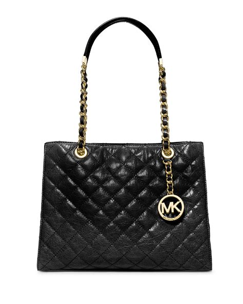 Michael Kors Quilted Handbags by Michael Michael Kors Susannah Quilted Medium Tote Bag In
