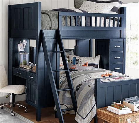 camp twin bunk system twin bed set pottery barn kids