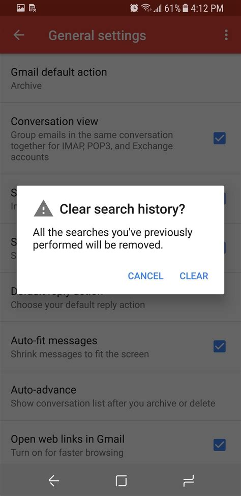 how to delete search history on android gmail 101 how to clear search history on android or ios 171 smartphones gadget hacks