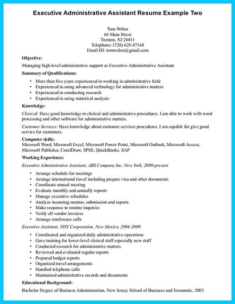 Resume Exle Skills And Qualifications 17 Best Ideas About Administrative Assistant Resume On Administrative Assistant