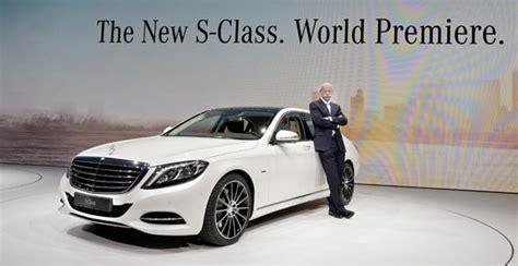 Mercedes And Daimler Daimler Chair Mercedes Cars Chief Buys 22 000