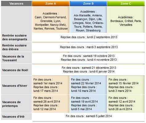 Calendrier Vacances Scolaires 2013 14 Calendrier Scolaire 2014 2015 Education Et Formation