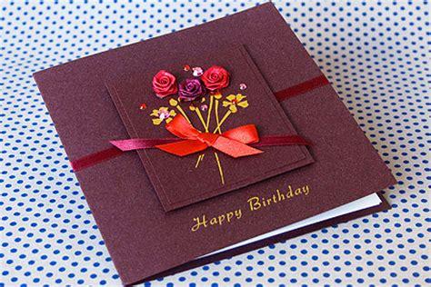 How To Make A Handmade - handmade birthday card quot birthday flower bunch quot