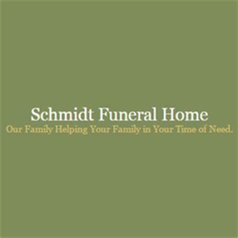 schmidt funeral home funeral services cemeteries 629