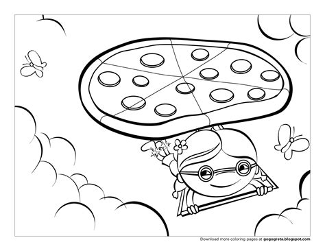 pizza coloring pages kids printable coloring pages 38