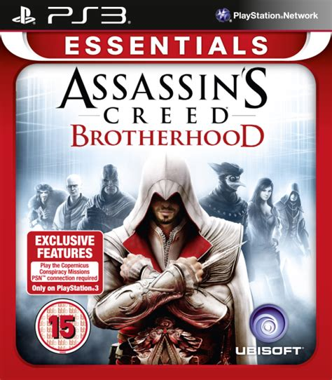 assassin s creed brotherhood essentials ps3 zavvi com