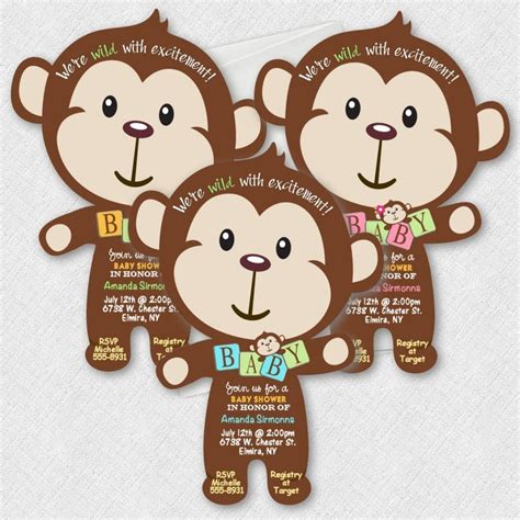 Baby Monkey For Baby Shower by Safari Baby Shower Ideas Baby Ideas