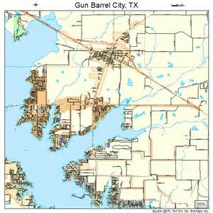 City Of Tx Gun Barrel City Map 4831592