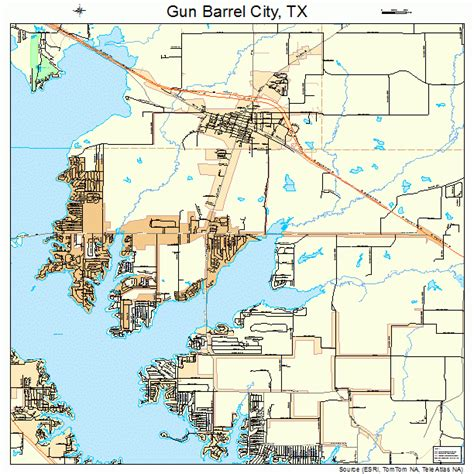 city texas map gun barrel city texas map 4831592
