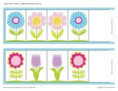pattern activities for early childhood flower pattern activities early childhood teacher pay
