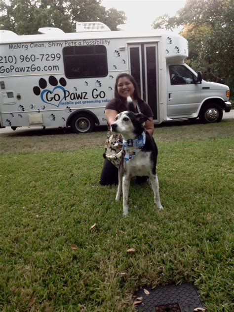 mobile grooming san antonio mobile grooming san antonio deputy tried mobile grooming and loved he was in and