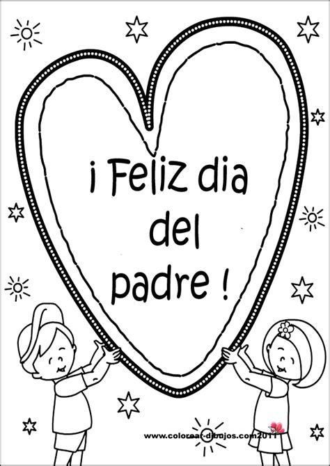 imagenes para colorear el dia del padre dibujos para el d 237 a del padre dibujos para ni 241 os