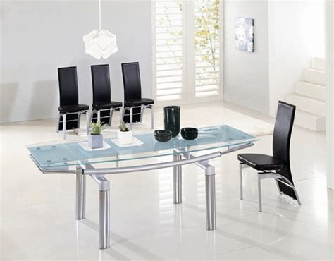 delta extending glass dining table dining table and