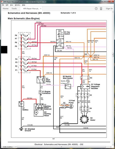 deere gator fuse box diagram wiring diagram schemes