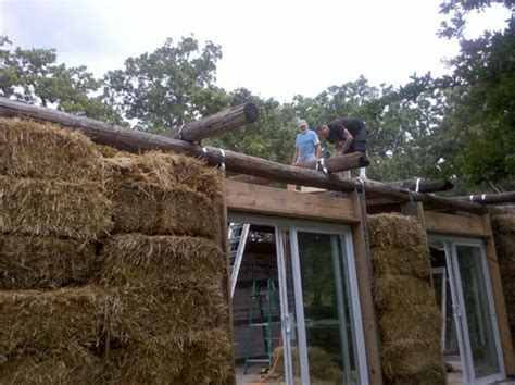 Telephone Pole Log Cabin by Building Two Debt Free Abodes With One Leg Green Homes