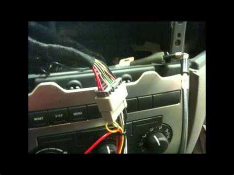 factory radio removal  aftermarket radio