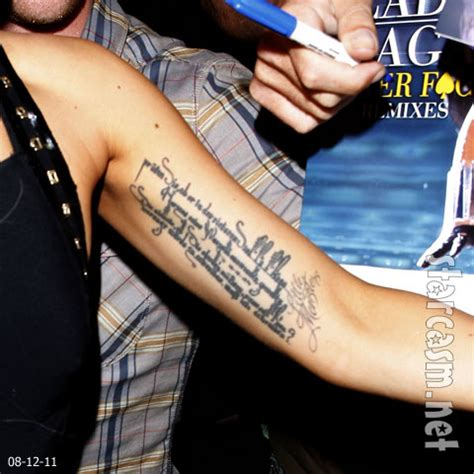 lady gaga arm tattoo photo what does gaga s left arm say what