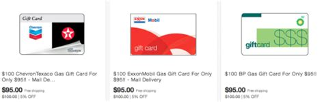 Chevron Gift Card Discount - discounted gas gift cards bp exxon chevron points miles martinis