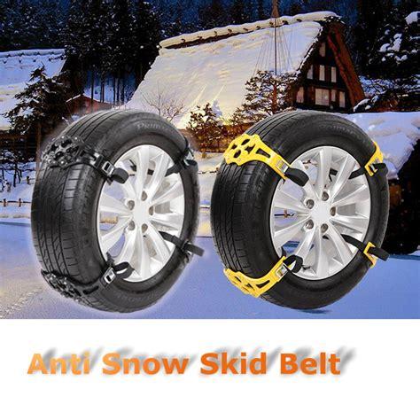 cadenas de nieve para autocaravanas cadenas de nieve tpu universales para coches