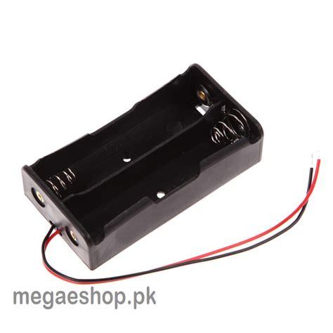 Baterai Holder 18650 X 2 18650 battery storage box plastic holder for 2 x 18650 buy in pakistan