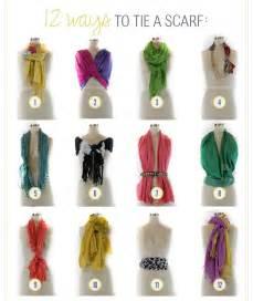 Tying Infinity Scarf 12 Ways To Tie A Scarf