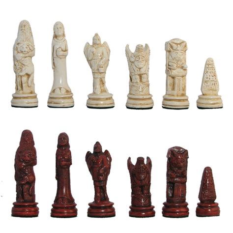 ancient chess set 4 quot ancient persian hydrostone chess pieces
