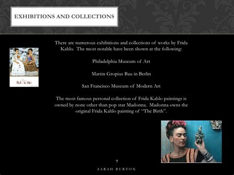 frida kahlo biography ppt frida kahlo powerpoint assignment