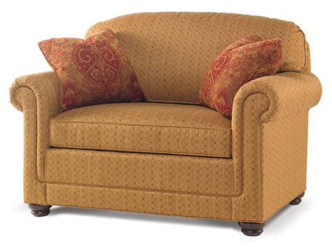 Sleeper Sofa Chair Small Sleeper Sofas Chairs With Pillow And Storage Plus Brown Fabric Cover For Small Living