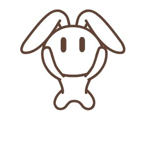 hd  silence  rabbit animated emoticons downloads  funny gif emoji emoticons box