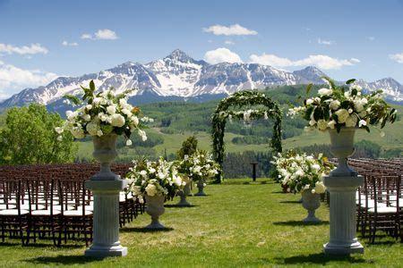 A Rustic, Elegant Mountain Wedding in Telluride, Colorado