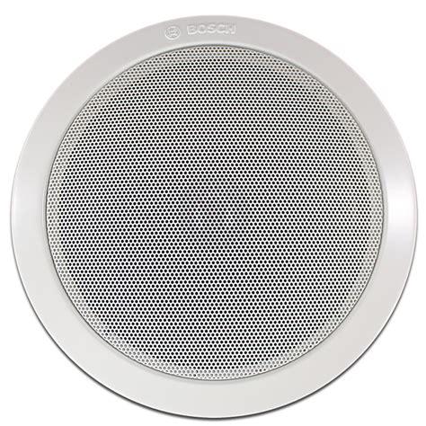 Speaker Ceiling 8x bosch 100v line ceiling speaker lifier background