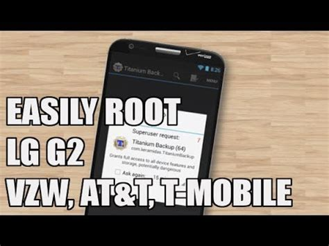 how to lg g2 root verizon also work for t mobile at t
