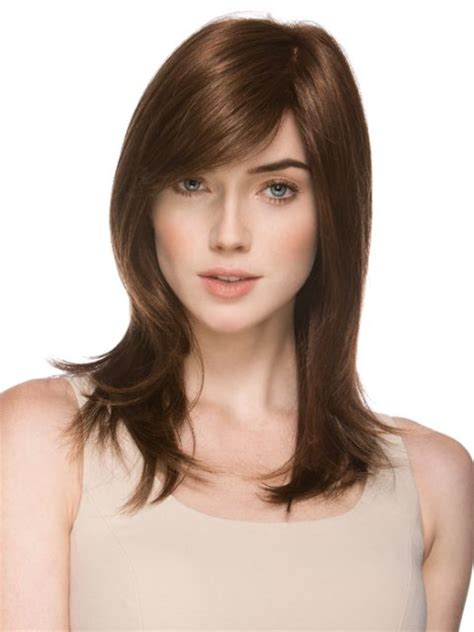 haircut for thin hair heart shape face 15 classy easy medium hairstyles for heart shaped faces