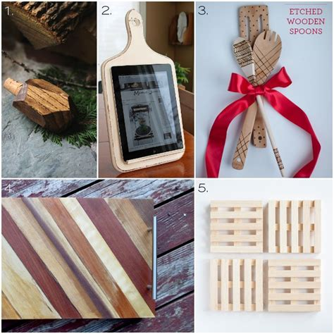 gift ideas for the kitchen 30 wooden handmade gift ideas one woof