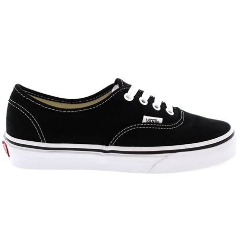 womens vans authentic canvas lace up sneakers casual plimsolls shoe us 5 11 5 ebay