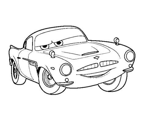 cars 2 finn mcmissile coloring pages finn macmissile colouring pages