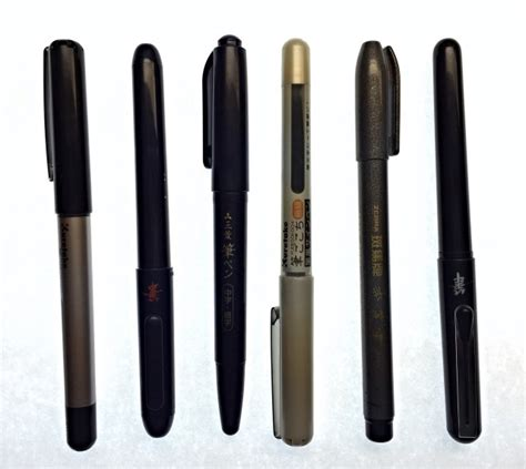 Pen Giveaway - winner brush pen giveaway the well appointed desk